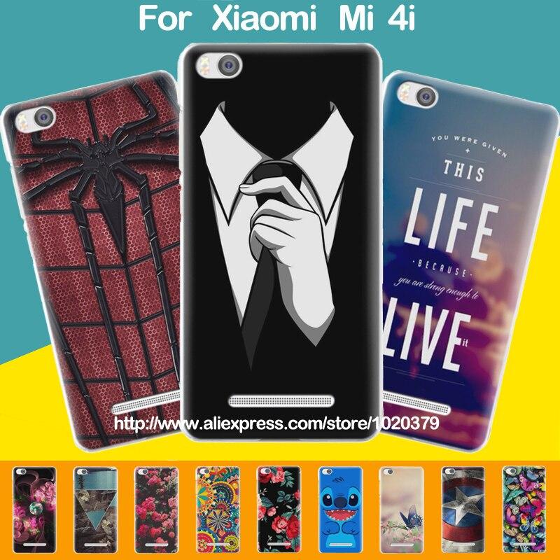 new product 8d778 e97da US $9.99 |Cartoon Case Cover For Xiaomi Mi 4i Hard Plastic Back Case For  Xiaomi Mi4i Case Fits for xiaomi mi4i mi 4i Case Cover In Stock on ...