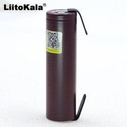 2019 Liitokala для HG2 18650 3000 мАч перезаряжаемый аккумулятор для электронных сигарет с высокой разрядкой, 30A с высоким током + Сделай Сам nicke