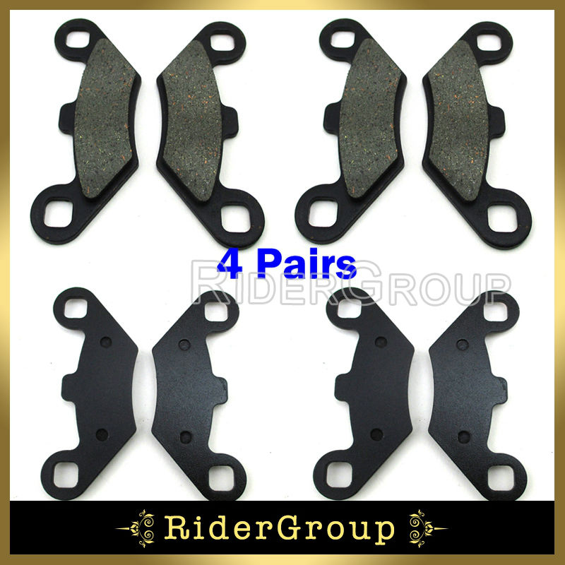 2010 Polaris 500 Scrambler 4X4 Rear Brakes Brake Pads