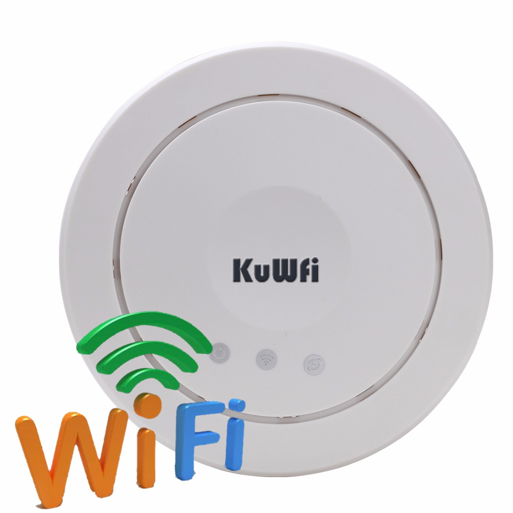 UK Shipping 300Mbps Wireless Access Point Ceiling AP High Power POE Wireless Router &Repeater WIFI Extender With 5dBi Antenn