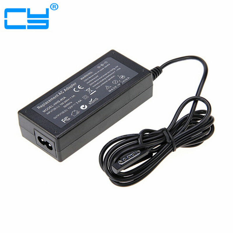 Free Shipping High Quality 12V 3.6A UK Plug AC Power Adapter Wall Charger For Microsoft Surface 10.6 Windows 8 Pro 1 2 Tablet eu plug 19v 1 7a ac power adapter wall charger for lg ads 40fsg 19 19032gpg 1 eay62790006