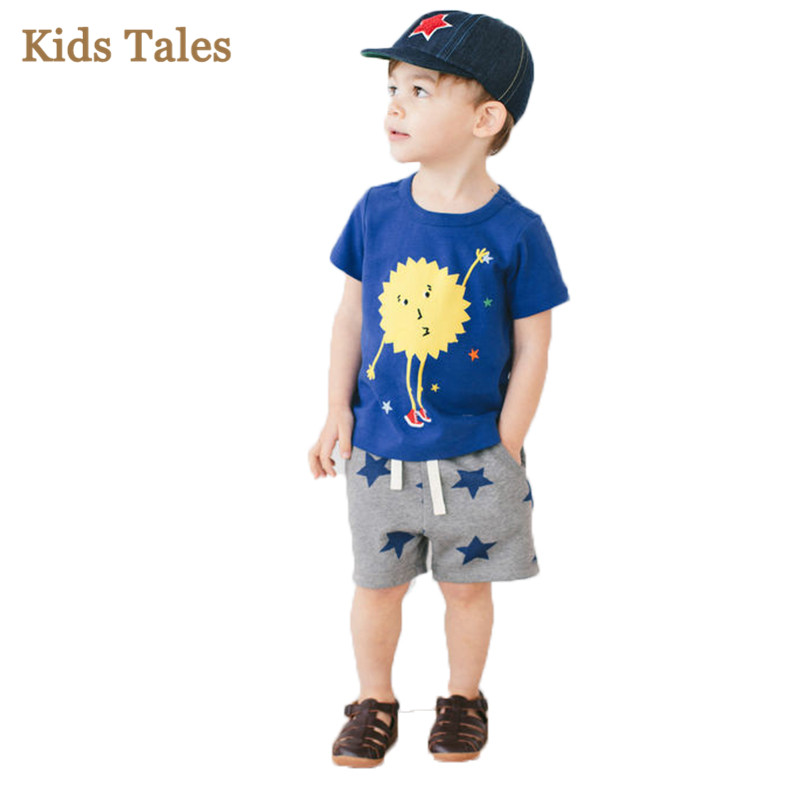PT004 For small boys summer clothes cartoon Children's ...