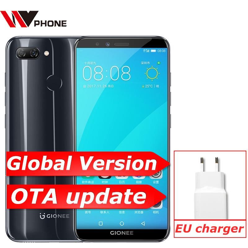 Global Version GIONEE S11 LITE 4GB RAM 32GB ROM Snapdragon 430 Octa Core Smartphone 13MP+2MP Dual Cameras 5.7 Mobile Phone
