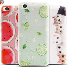 For Xiaomi Mi 5S Case 3D Fruit Landscape Soft TPU Case for Xiaomi Mi5S Case Cover Silicone Mobile Phone Cases Silicon Funda
