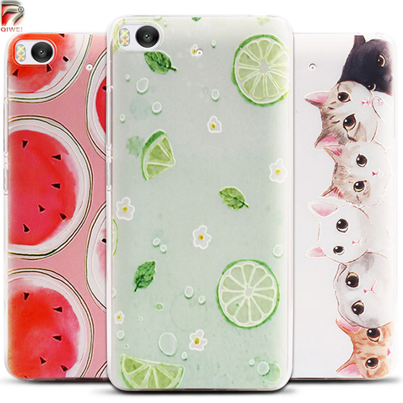 For Xiaomi MiS Case D Fruit Landscape Deer Ultra Thin Soft TPU