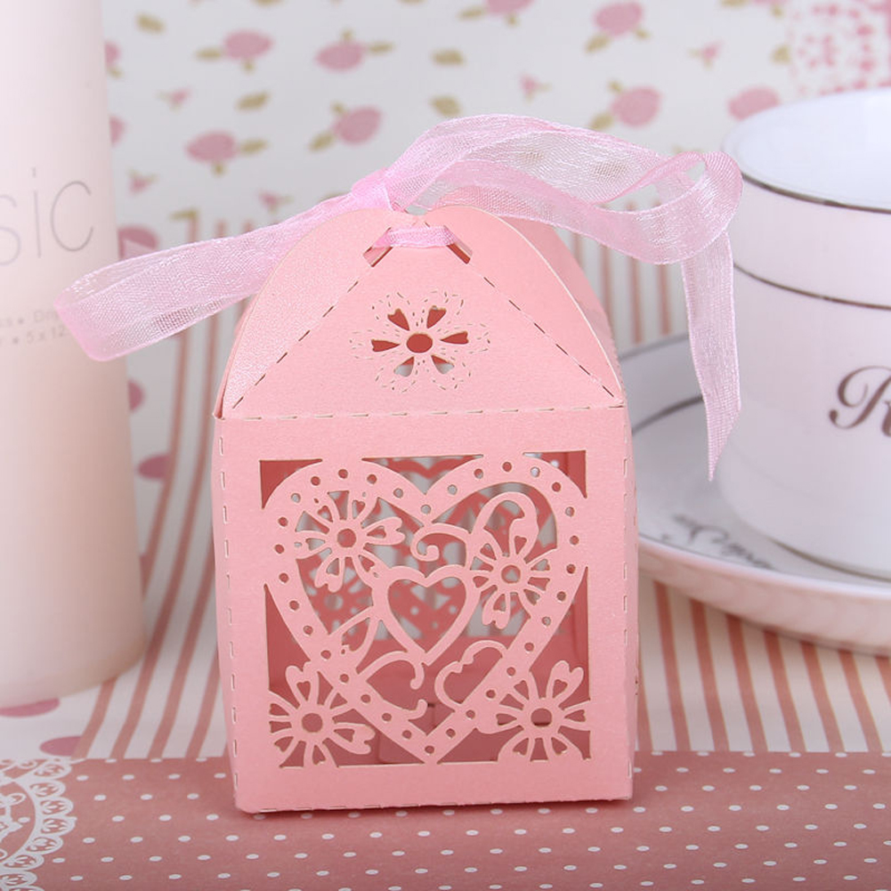 200Pcs Kraft Paper Gift Box Candy Boxes Baby Shower Decorations ...