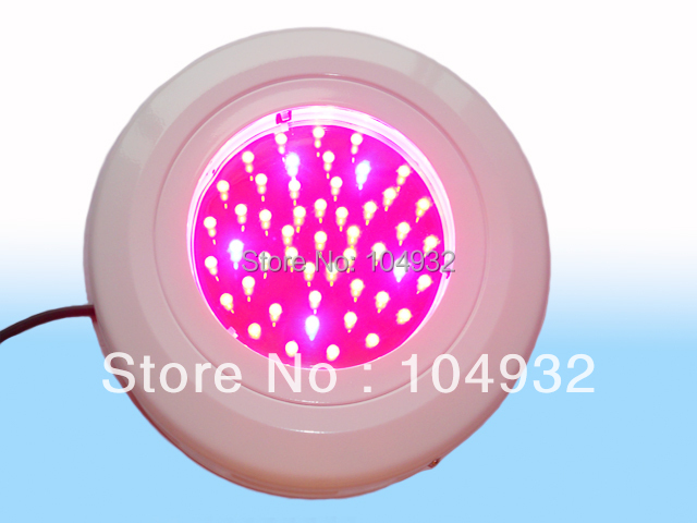 new type Free Shipping 50W UFO grow light R+B+O 8:1:1 LED UFO Plant Hydroponic Lamp Grow Lights 1x high quality 450w apollo led grow light hot sales plant grow led bulb express free shipping