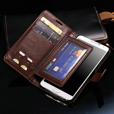 quality design a3863 34274 US $11.99 |Luxury Note 3 Wallet Stand Flip Leather Case For Samsung Galaxy  Note 3 III N9000 Vintage Mobile Phone Bag Cover With Card Slot on ...