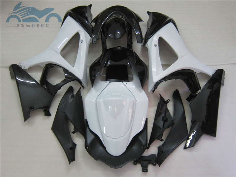 Upgrade your Fairing <font><b>kits</b></font> for <font><b>Suzuki</b></font> GSXR 1000 2007 2008 <font><b>GSXR1000</b></font> K7 <font><b>K8</b></font> full motorcycle fairings <font><b>kit</b></font> 1000 07 08 white black GD25 image