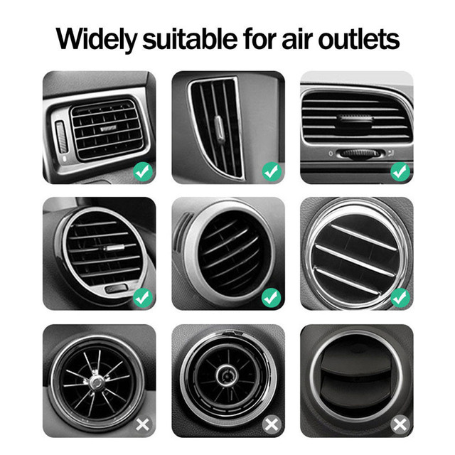 10W Wireless Charger Fast Car Charger Air Vent Mount Phone Holder For iPhone XS Max For Samsung S10 S9 For Huawei QI Chargers 5