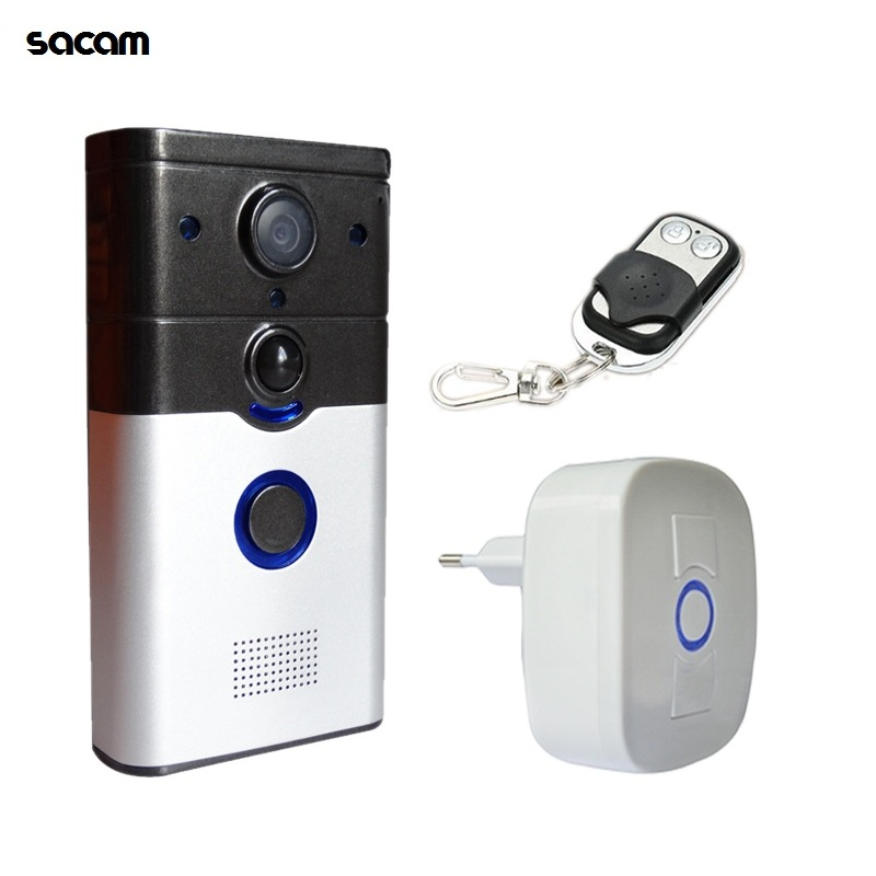 Smart Lock HD 720P Wireless IP Door Camera Eye Ring Doorbell WiFi Video Intercom System for Home PIR Motion Alarm to Smart Phone 2 7inch indoor monitor wifi wireless video door phone intercom doorbell ip camera pir ir night vision home alarm system remote