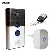 Умный Замок HD 720P Беспроводная ip-дверь камера глаз кольцо дверной звонок WiFi видеодомофон система для дома PIR движения сигнализации для смартфона