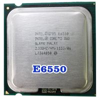 Original INTEL Core 2 Duo E6550 CPU rSocket LGA 775 Pocessor (2 33 Ghz/4 M/1333 MHz) 65W desktop-in CPUs aus Computer und Büro bei
