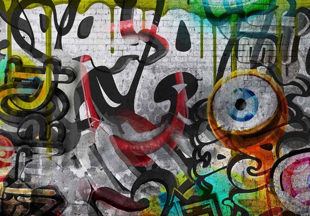 Пользовательские 3D фото обои дизайн Граффити декоративный настенный плакат искусство Съемная стенная Фреска наклейки на стену