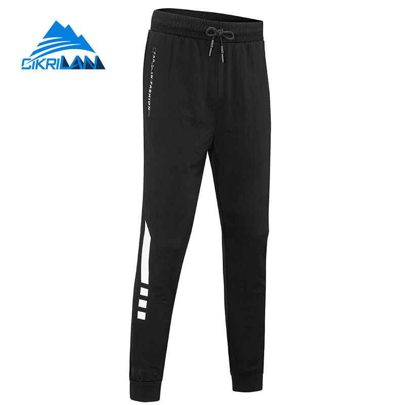 Male Quick Dry Breathable Cotton Linen Harem Trousers Men Slim Fit Sport Running Jogging Trekking Climbing Hiking Outdoor Pants