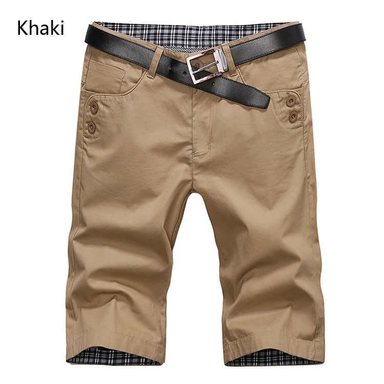 Высококачественная Марка mwxsd мужские хлопковые шорты летние мужские шорты Стильные повседневные пляжные шорты мужские короткие штаны 28 ~ 38