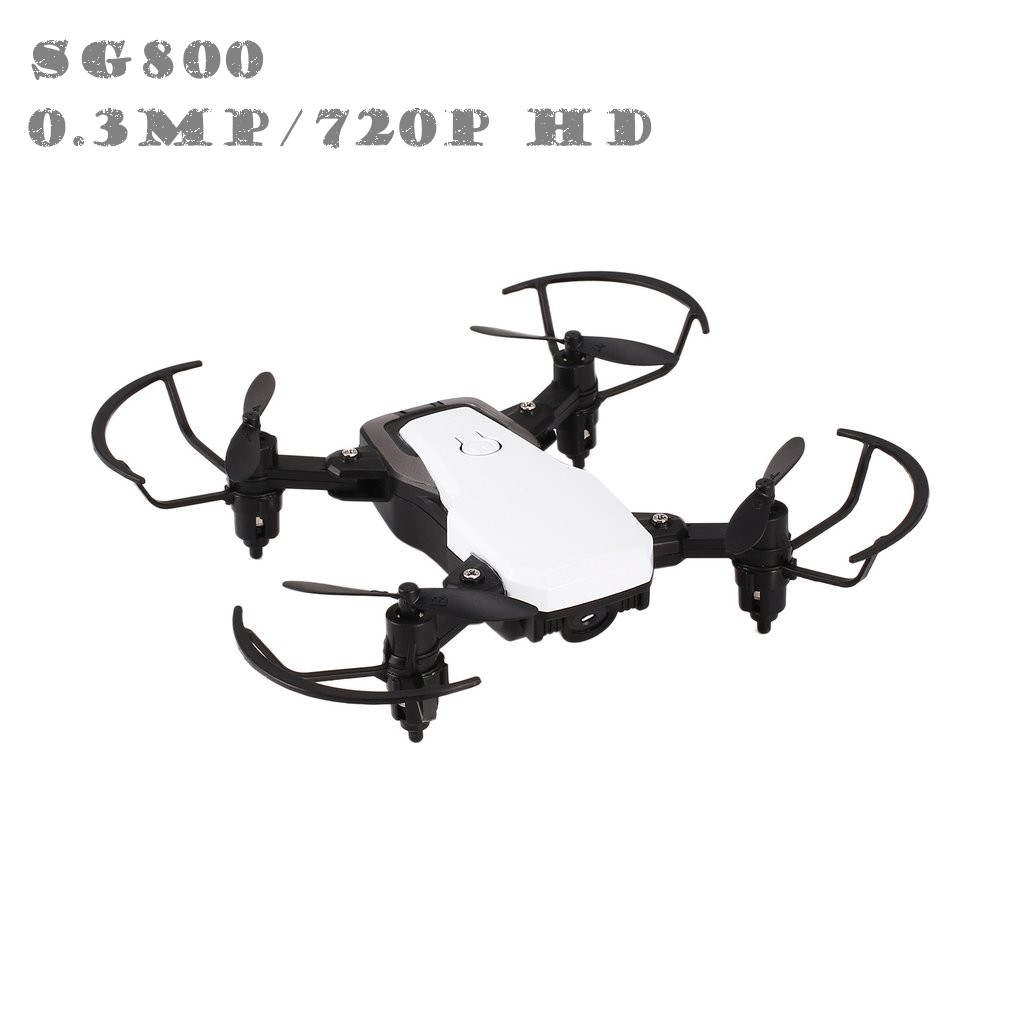 Zielsetzung Sg800 Rc Mini Drone Fpv Selfie Rc Quadcopter Mit 0.3mp/720 P Hd Kamera Realtime Höhe Halten Headless Modus 3d Flip Faltbare Rc-hubschrauber