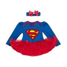 Комплект из 2 предметов, черно-красное платье-пачка для маленьких девочек Одежда для новорожденных девочек с длинными рукавами и буквенным принтом повязка на голову с бантом и бусинами для детей от 0 до 24 месяцев