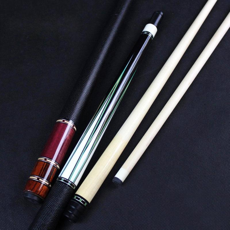 HANDMADE High Quality Billiards Pool Cue 12 5mm Tip Ebony Rosewood Craft China