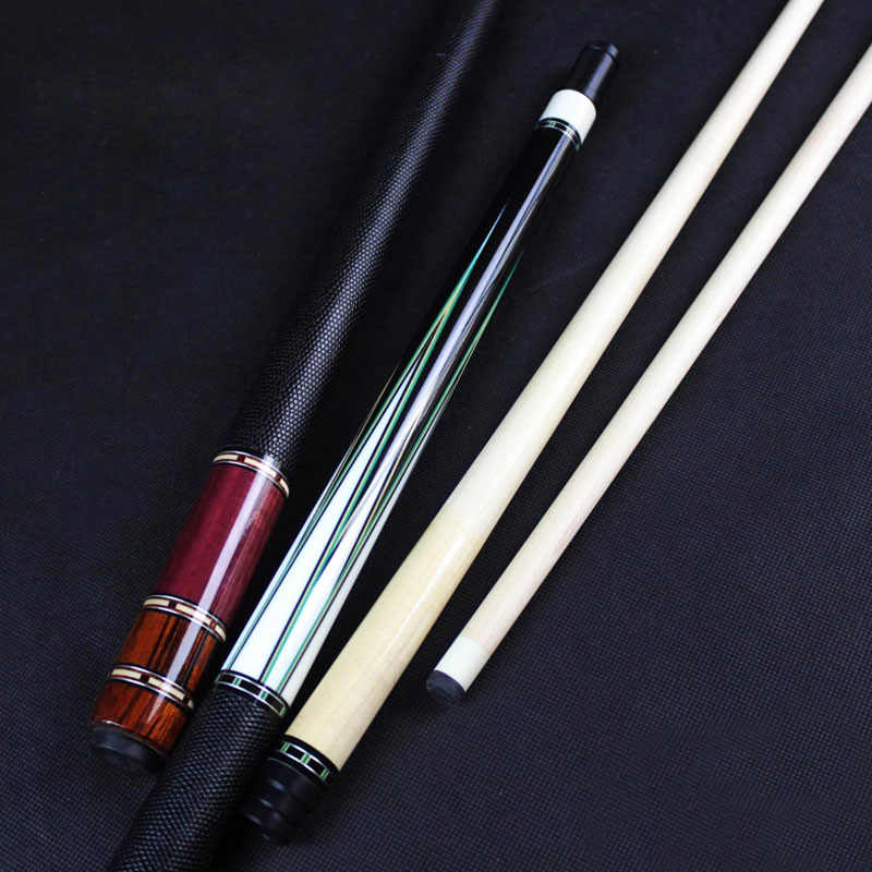 HANDMADE High Quality Billiards Pool Cue 12.5mm Tip Ebony Rosewood Craft China