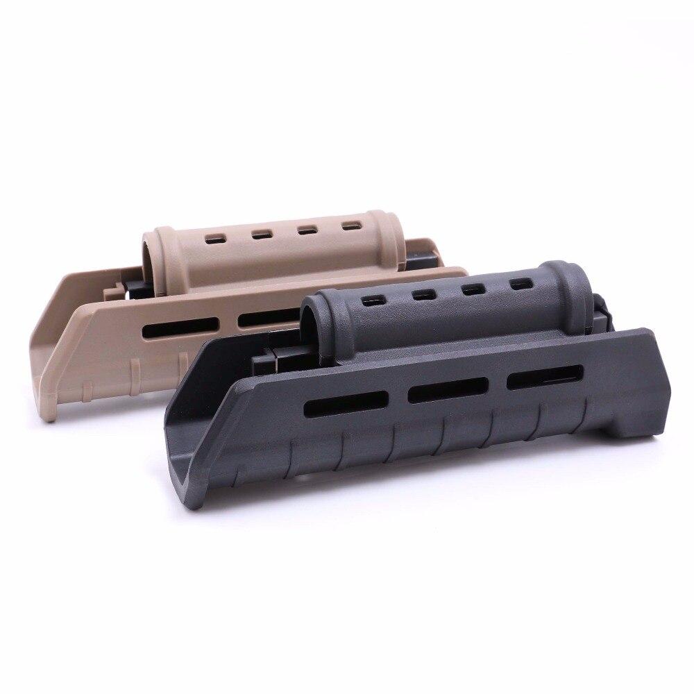 Nueva llegada AK protector de mano para AK47/AK74 (DS7517) 1 botella Y 20000 Uds bala de agua para pistola de juguete de cuentas puede contener 200 Uds bala usada para todos Barret M4A1 P90 AK47