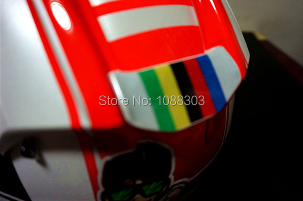 Rainbow Colorful Scratches Cover Motorcycle Helmet Car Reflective - Motorcycle helmet decals graphicsreflectivedecalscomour decal kit on the bmw systemhelmet