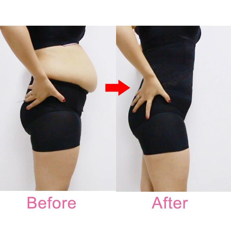 Image 5 - VASLANDA Women Slimming Shapewear Set Strapless Padded Vest + High Waist Butt Lifter Panties Corrective Underwear Briefs Shaper    -