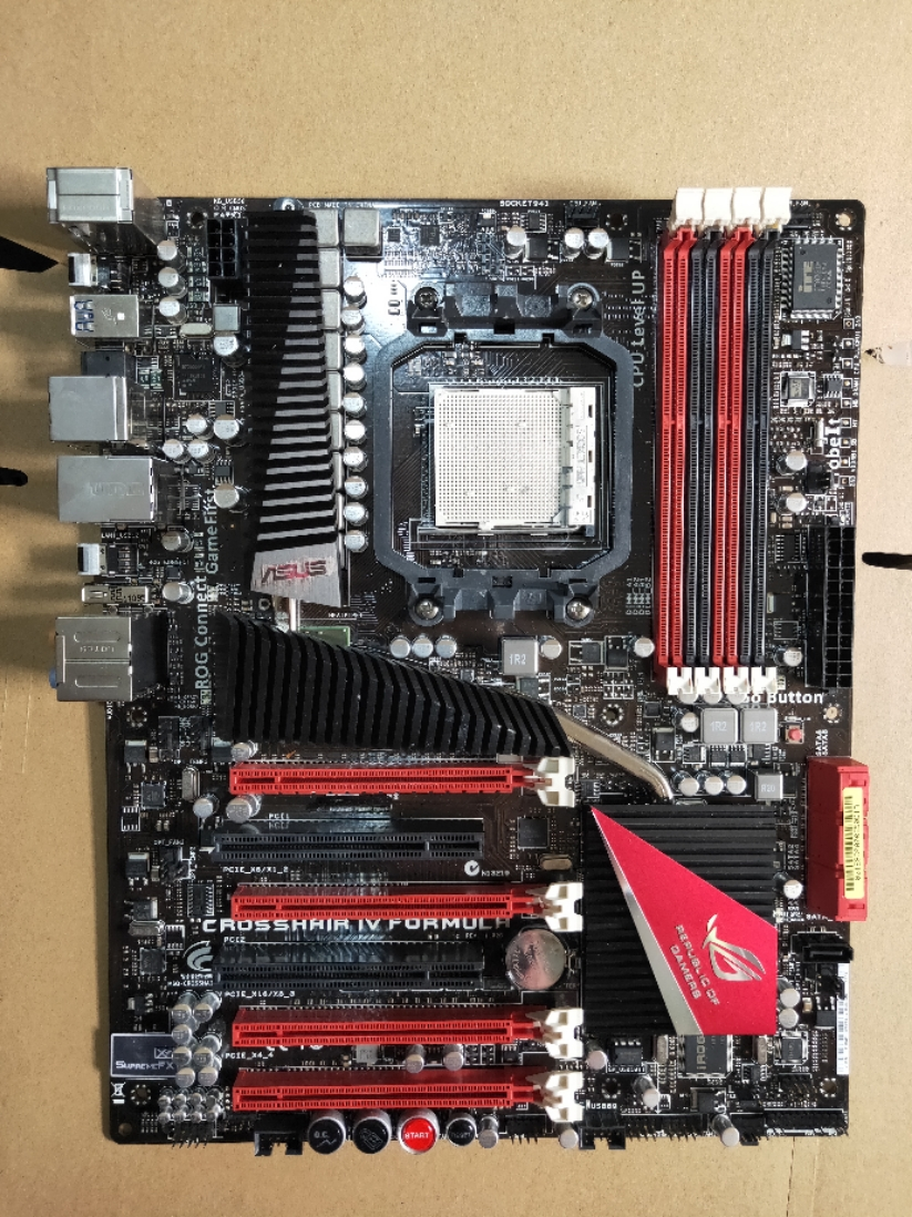 Original Motherboard For ASUS CROSSHAIR IV FORMULA Socket AM3 DDR3 16GB USB2.0 USB3.0 Desktop Motherboard Free Shipping