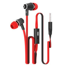 2pcs/lot Original Brand Earphones Head phone Earbud High Quality With MIC 3.5MM Jack Stereo Bass For iphone Samsung Mobile Phone(China)
