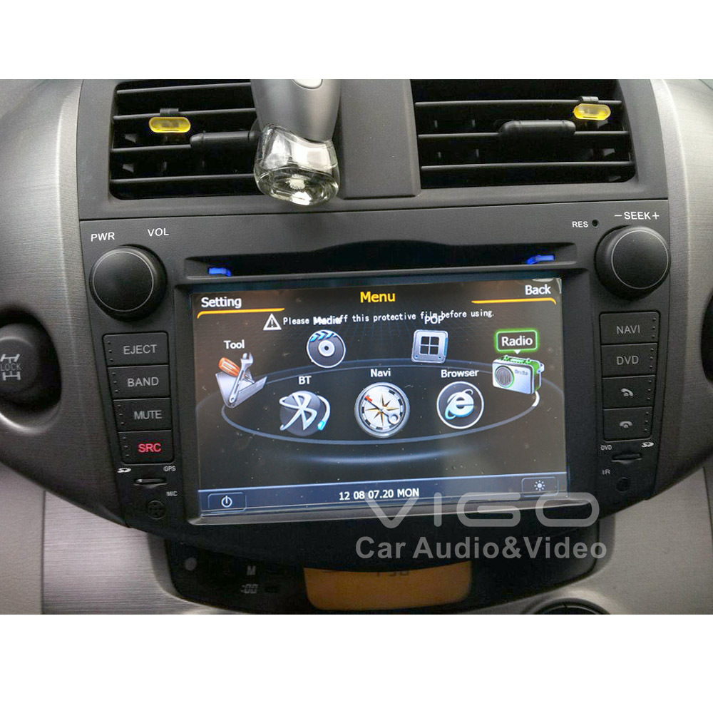 autoradio gps navigation f r toyota rav4 rav 4 2006 2012. Black Bedroom Furniture Sets. Home Design Ideas