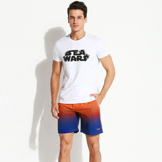 Gailang Brand 2018 New Men beach shorts Man Boxer Trunks Swimwear Swimsuits Man short boardshorts bermudas masculina de marca