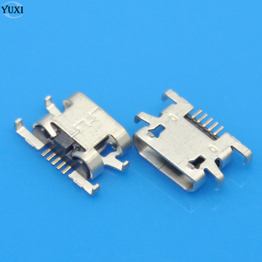 YuXi 10pcs Micro USB Jack Charging Port Female Connector Socket For Sony Xperia M C1904 C1905 C2004 C2005 / For Doogee X5 Pro