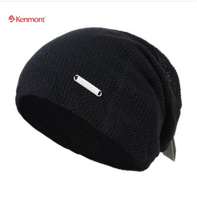 Kenmont Nueva Llegada de Los Hombres de Invierno Atumn Gorro De Algodón Al Aire Libre de Esquí de Nieve Slauch Hats-1365