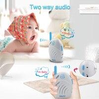 Baby Walkie Talkie 2.4Ghz Wireless Children Radio bebe baby monitor Two Way Audio Baby sitter Radio Nanny Baby Alarm Babyphone