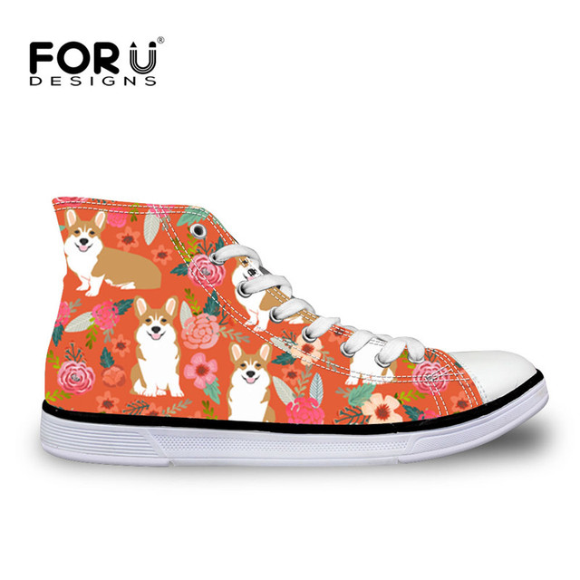 d0c5f18c1f0 FORUDESIGNS-Kawaii-Corgis-Floral-Printing-Vulcanized-Shoes-for-Women -2018-High-Top-Casual-Ladies-Shoes-Platform.jpg 640x640.jpg