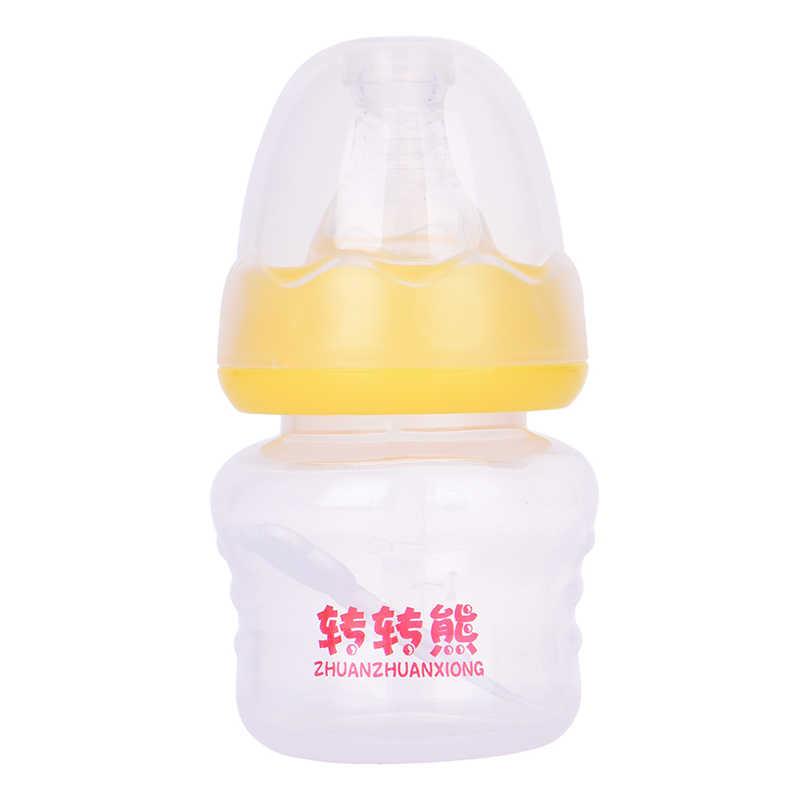 3 สี 60 ml Mini ขวดนมเด็ก BPA ฟรีปลอดภัย Mamadeira น้ำผลไม้ Feeder Biberones Bebes เด็กถ้วย