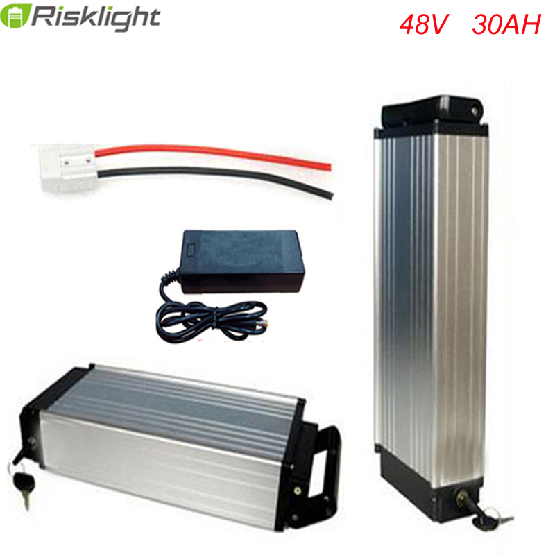 electric bike lithium 1000w 48v rear rack battery 48V 30Ah for 48v Bafang/8fun 1000w midcenter drive motor For LG 18650 Cell free customs taxes super power 1000w 48v li ion battery pack with 30a bms 48v 15ah lithium battery pack for panasonic cell