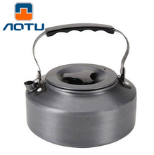 AOTU 1.1L Portable Ultra-light Outdoor Hiking Camping Picnic Water Kettle Teapot Coffee Pot Outdoor Appliances Water Coffee Pot