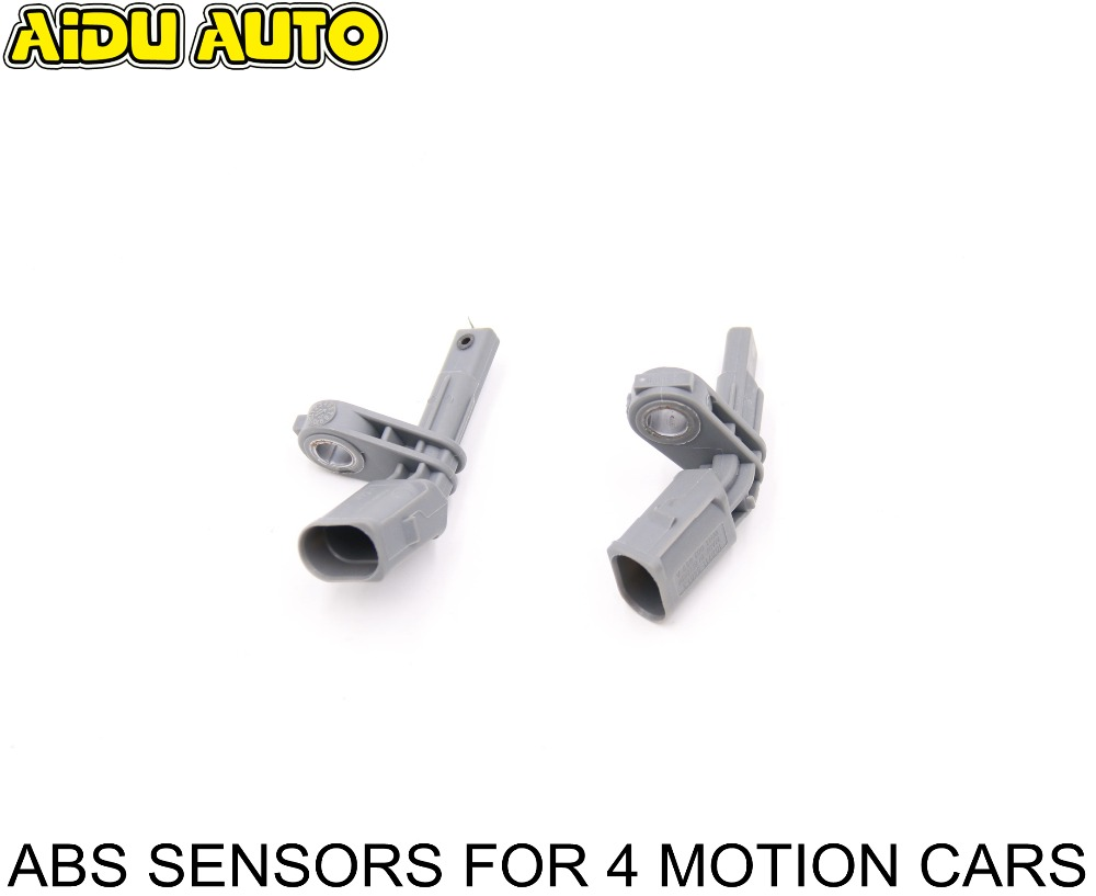 WHT 003 857 A WHT0 003 856 A ABS Wheel Speed Sensor PLA 2.0 For 4 Motion Golf Tiguan Jetta MK6 Passat CC WHT003857A WHT003856A