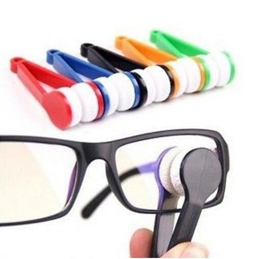4000 pcs Fashion Hot Mini Sun Glasses Eyeglass Microfiber Brush Cleaner Home Office Easy