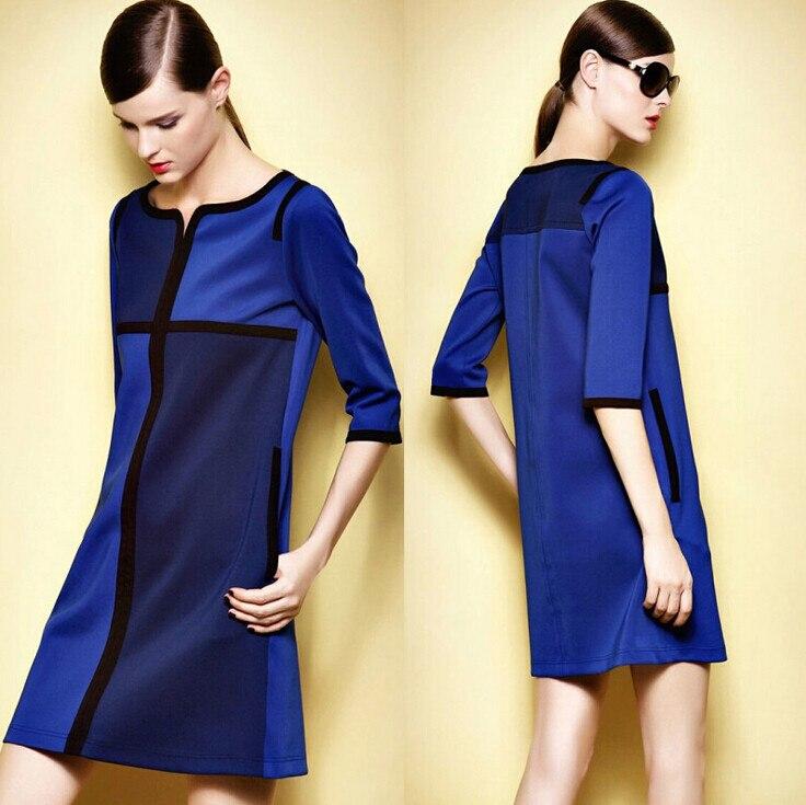 Autumn Office Dress Women Clothing Big Size Work Dress 5xl Plus Size