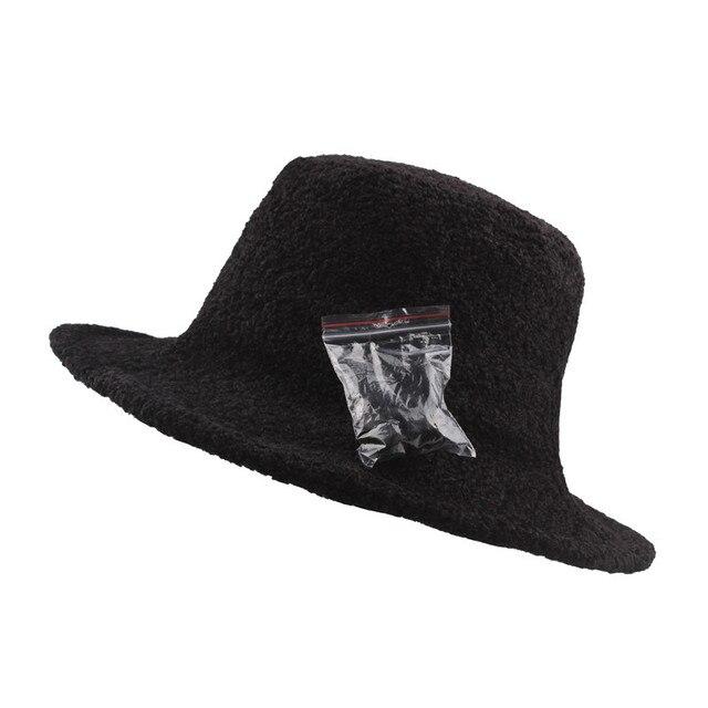 KLV 1PC Hats Women Bucket...