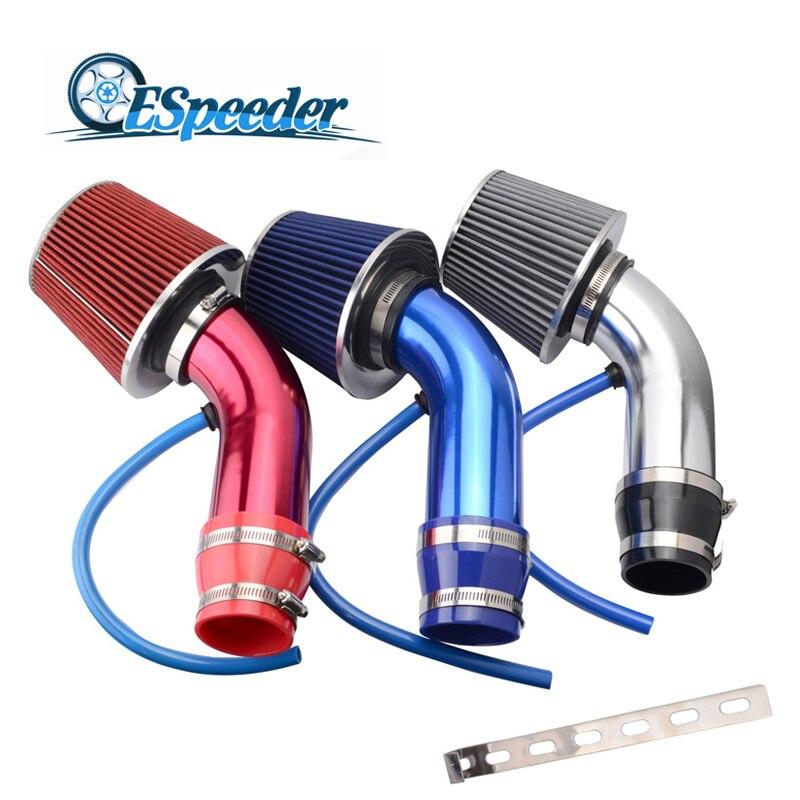 Kit d'admission d'air froid de filtre à Air de tête de champignon de filtre à Air d'admission de moteur de voiture de filtre à Air d'entrée de 3 pouces/76mm