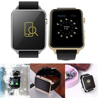 Heart Rate Monitor Bluetooth IP57 Waterproof Smart Watch GT88 Smartwatch Support SIM TF Card Phone For