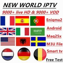 Германия IPTV 9000 + Live Каналы и Vod 4 k HD лучший Европа XXX IPTV арабский Швеции Великобритании, США французский Америки IPTV для M3U Android Apk