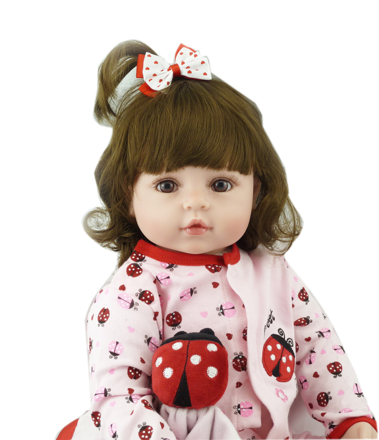 alive Reborn Doll Boneca Silicone Vinyl 56cm Reborn Baby Doll with Cute beetle clothes Girl real Princess Simulate doll gift toyalive Reborn Doll Boneca Silicone Vinyl 56cm Reborn Baby Doll with Cute beetle clothes Girl real Princess Simulate doll gift toy