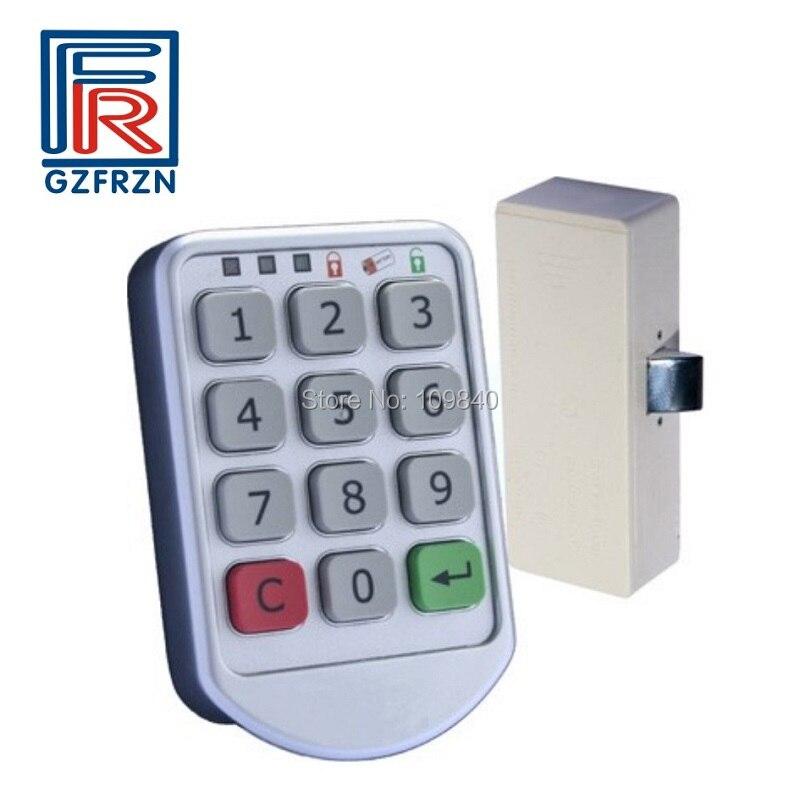 1pcs Password Keypad Number Cabinet Door Code Locks For Office file Cabinet Door Drawer Durable