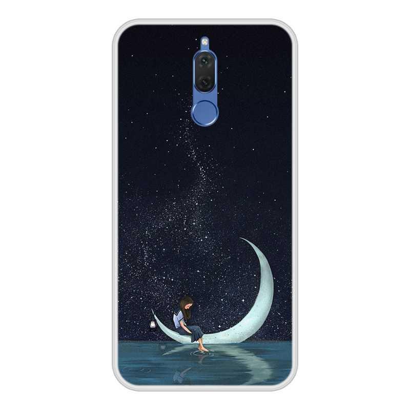 Capa para huawei nova 2i silicone macio tpu design legal estampado impressão capa de telefone para huawei nova 2i caso capa