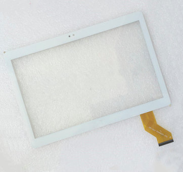 """Новый Белый Для 10.1 """"YUNTAB K107 3 Г Планшетных Сенсорная Панель Экрана Планшета Стекло Замена Датчика Бесплатная Доставка"""