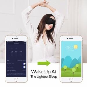 Image 4 - Fones de ouvido sleepace, confortável, lavável, máscara para os olhos com bloqueio de som/cancelamento de ruído, fone de ouvido, controle remoto app inteligente